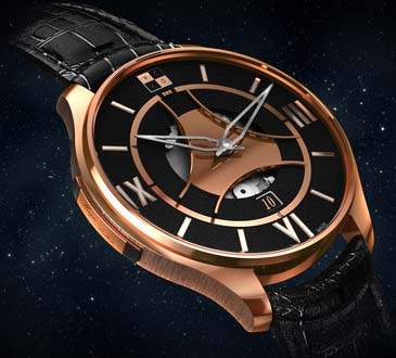VCXO OX 'One' Pink Gold - Limited Edition (25 pieces): 40,000 CHF.