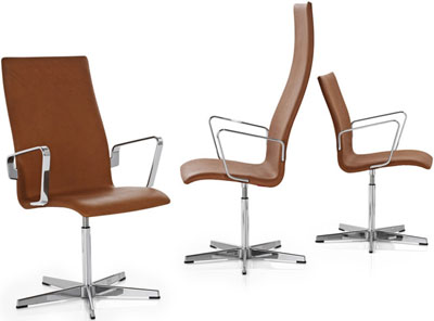Arne Jacobsen: Oxford chairs.