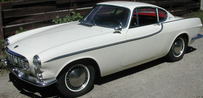 The TV series The Saint's Volvo P1800.