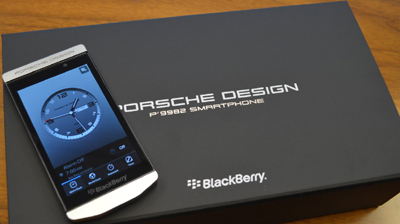 Porsche Design P'9982 BlackBerry smartphone: €1,650.