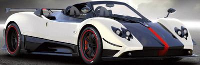 Pagani Zonda Cinque Roadster.