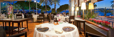 Restaurant La Palme d'Or at Grand Hyatt Cannes Hotel Martinez, 73 Boulevard de la Croisette, 06400 Cannes