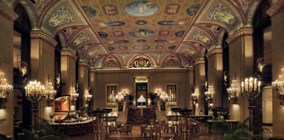 Palmer House, 17 E Monroe St, Chicago, IL 60603.