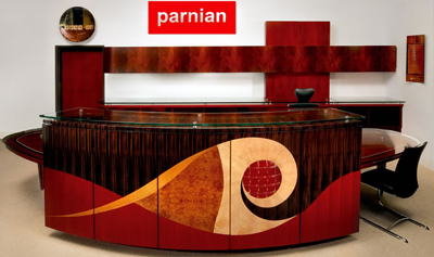 World's Most Expensive Custom Desk by Parnian: US$200,000+.