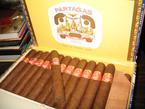 Partagas cigars at Habanos S.A.
