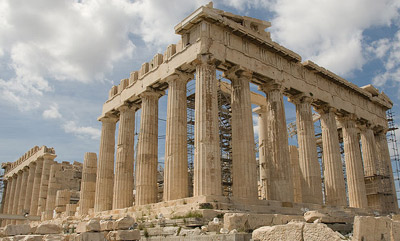Parthenon, Athens, Greece.