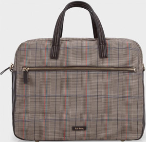 Paul Smith Prince Of Wales Check Barnaby Business Folio: €333.