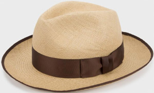 Paul Smith By Christys' Hats - Straw Panama Hat: €105.
