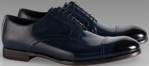 Paul Smith Men's Blue Hadal Shoes: €370.