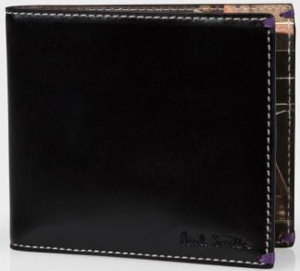 Paul Smith Erwin Fieger Taxi Print Leather Billfold Wallet: US$325.