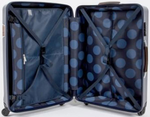 Paul Smith Luggage - Medium Navy Steamer Trolley Suitcase: €759.