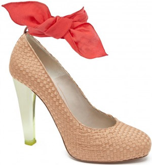 Paule Ka Satin Pumps: €550.