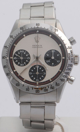 Paul Newman's legendary Rolex Daytona watch.