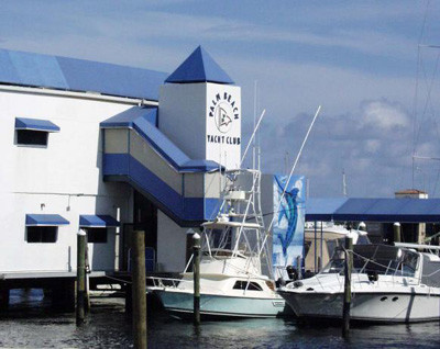 Palm Beach Yacht Club, 800 North Flagler Drive, West Palm Beach, FL 33401.