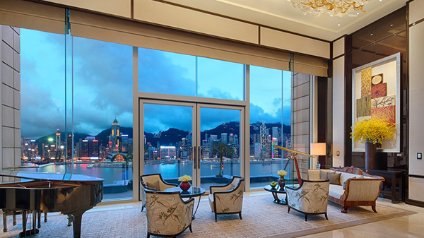 The Peninsula Suite at The Peninsula on the 26th floor, Salisbury Road, Kowloon, Hong Kong, SAR.