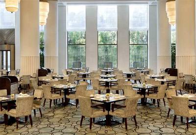Afternoon Tea at The Lobby at The Peninsula, No. 32 The Bund, 32 Zhongshan Dong Yi Road, Huangpu, Shanghai 200002, China.