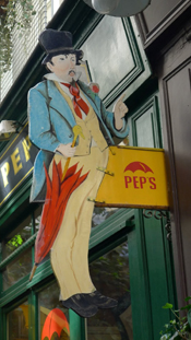 PEP'S, Passage de l'Ancre, 223, rue Saint-Martin, 75003 Paris, France.