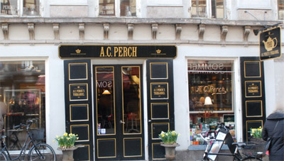 Afternoon Tea at Perch's Tea-Room, Kronprinsensgade 5, 1114 Copenhagen K, Denmark.