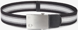 Fred Perry Striped Webbing Men's Belt: £35.