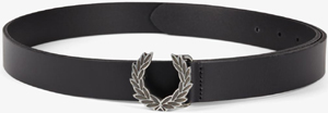 Fred Perry Laurel Wreath Buckle Leather Women's Belt: £32.50.
