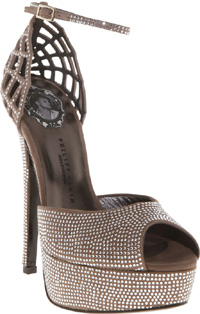 Philipp Plein High Heel Spider Shoe: €1,998.
