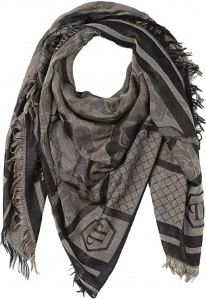 Philipp Plein Plein Icon women's scarf: €398.