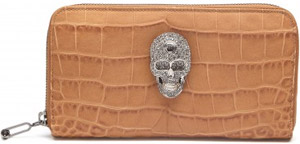 Philipp Plein women's wallet skull: €550.