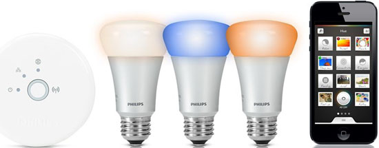 Philips Hue Connected Bulb.