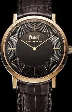 Piaget Altiplano Ultra-thin, automatic, rose gold watch.