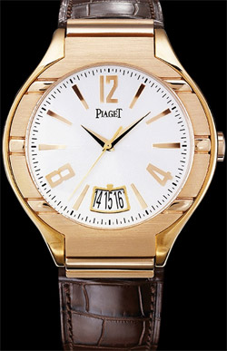 Piaget Pink Gold Mechanical Self-Winding Polo Watch.
