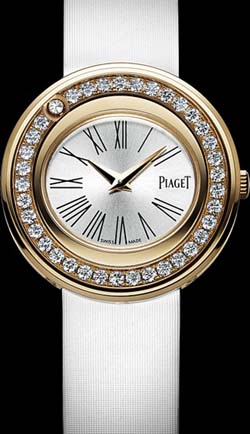 Piaget Possession Rose gold, diamonds watch.