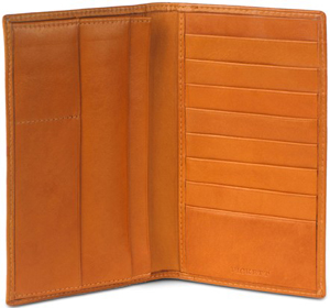 Pickett Lambskin Tall Wallet: £179.