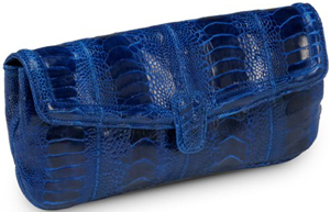 Ana Ostrich Clutch Bag: £459.