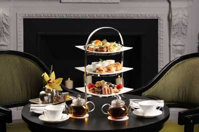 Afternoon Tea at the Two E Bar/Lounge at The Pierre hotel, 2 East 61st Street at Fifth Avenue, New York City, NY 10065, U.S.A.