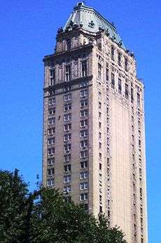 The triplex Penthouse atop Manhattan's Pierre Hotel, 2 E 61st St at Fifth Avenue, New York City, NY 10065, U.S.A.