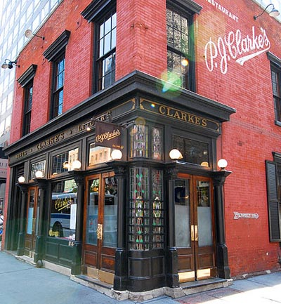 P. J. Clarke's, 915 3rd Ave (b/t 56th St & 55th St in Midtown East), New York City, NY 10022.