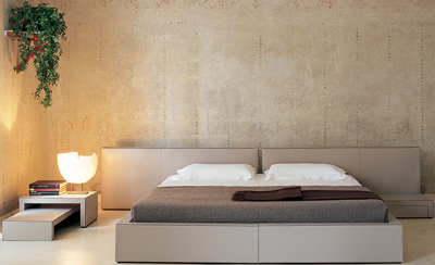 Matteograssi Plan Openside 20L Bed designed by Piero Lissoni.
