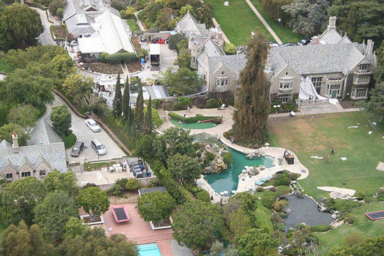 Playboy Mansion, 10236 Charing Cross Road, Holmby Hills, Los Angeles, CA 90024, U.S.A.