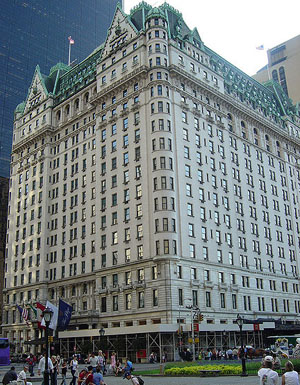 Plaza Hotel (New York City, NY, U.S.A.) by Henry Hardenbergh (1905-1907).