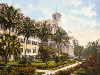 Royal Poinciana Hotel (1894-1934) Welcome to the Hotel Royal Poinciana Hotel.