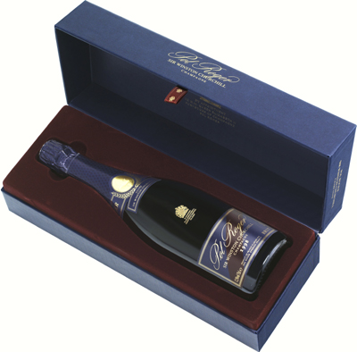 The Sir Winston Churchill Cuvée champagne - since 1975.