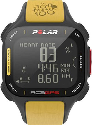 Polar RC3 GPS Tour de France Limited Edition.