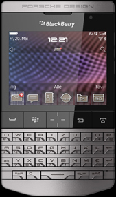 Porsche Design P´9981 Smartphone from BlackBerry.