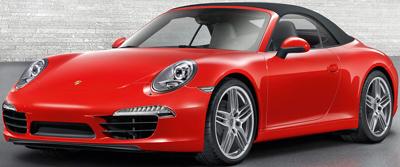2012 Porsche 911 Carrera Cabriolet.
