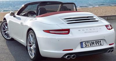 Porsche 911 Carrera S Cabriolet.