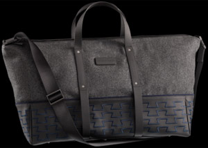Porsche Design P'2000 Luggage Pure Felt TravelBag: US$720.