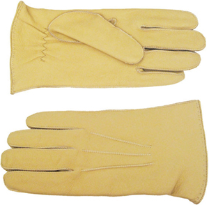 Portolano Men's deerskin gloves: US$93.