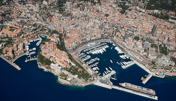 Ports of Monaco: Hercules Port & Port of Fontvieille.