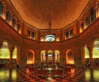 Powell Library, University of California, Los Angeles, CA, U.S.A.