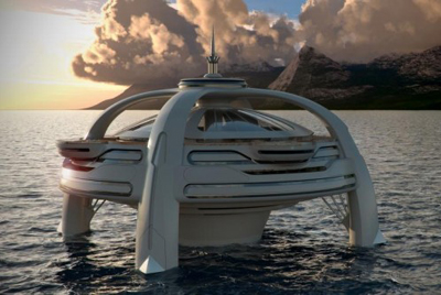 Project Utopia presented by BMT Nigel Gee and Yacht Island Design.